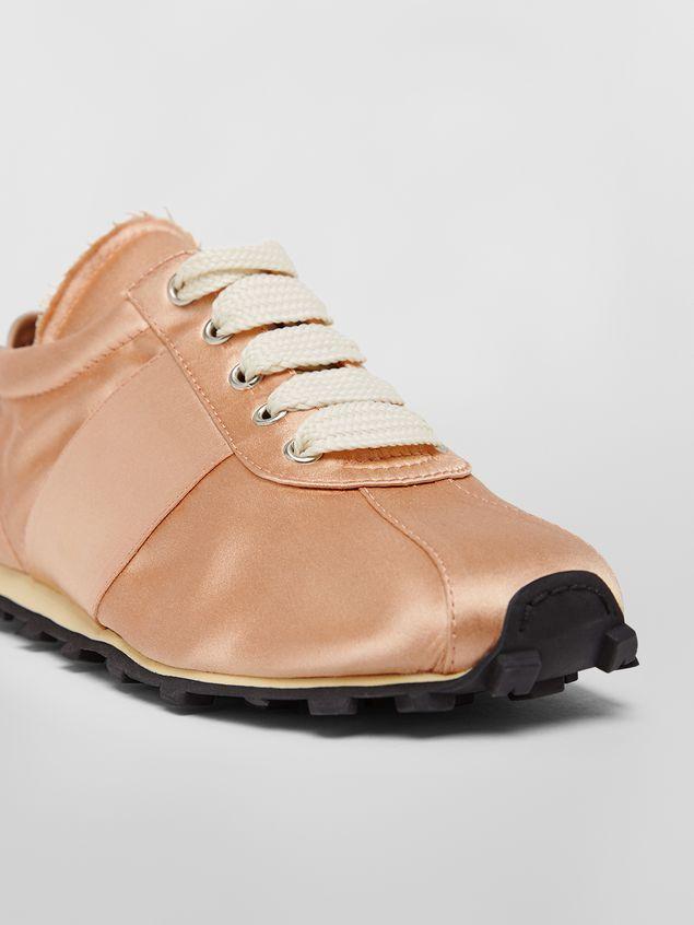 Marni Marni LIGHTFOOT sneaker in satin powder Woman - 5