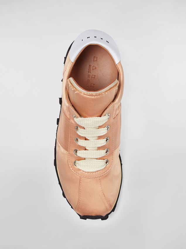 Marni Marni LIGHTFOOT sneaker in satin powder Woman - 4