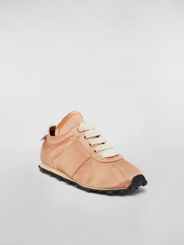 Marni Marni LIGHTFOOT sneaker in satin powder Woman - 2