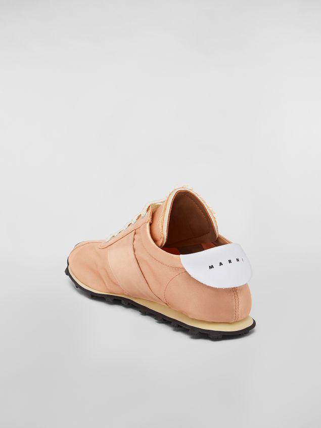 Marni Marni LIGHTFOOT sneaker in satin powder Woman - 3