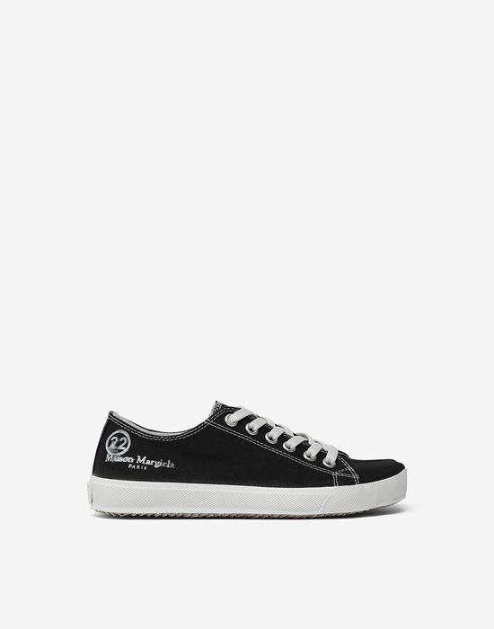 MAISON MARGIELA Tabi low top canvas sneakers Sneakers [*** pickupInStoreShipping_info ***] f