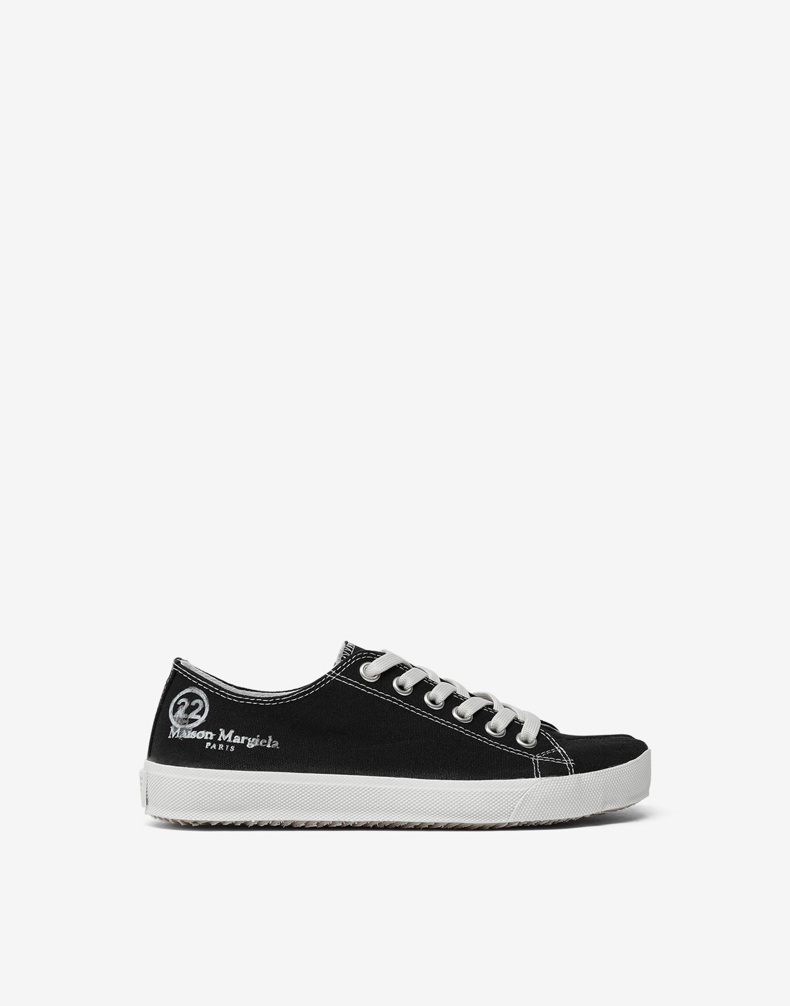 MAISON MARGIELA Tabi low top canvas sneakers Sneakers Tabi Woman f