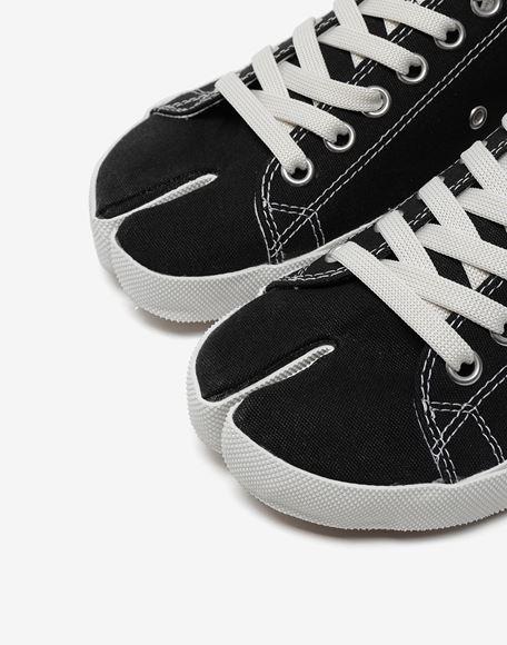 MAISON MARGIELA Tabi low top canvas sneakers Sneakers Tabi Woman a