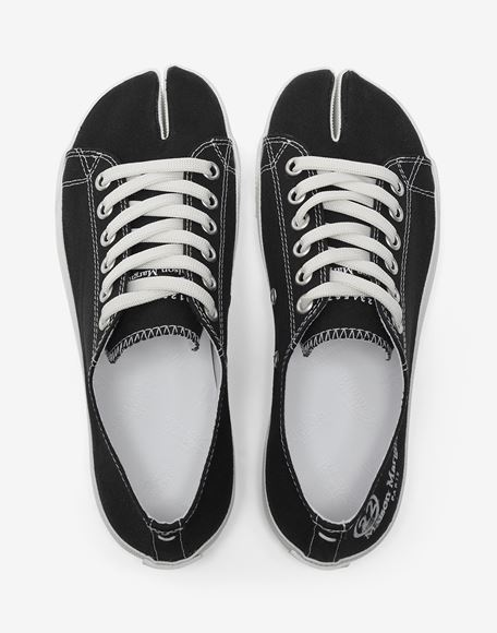 MAISON MARGIELA Tabi low top canvas sneakers Sneakers Tabi Woman d