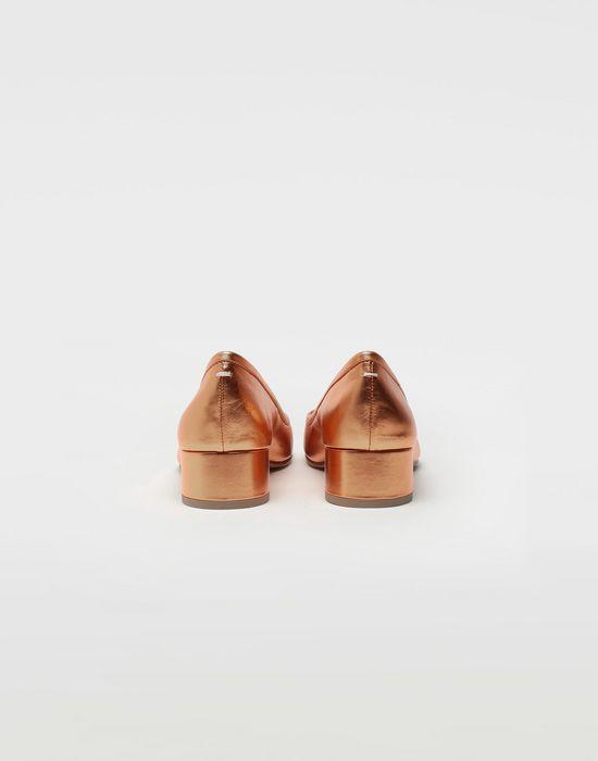 MAISON MARGIELA Tabi laminated leather ballerina pumps Ballet flats [*** pickupInStoreShipping_info ***] d