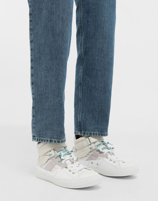 MAISON MARGIELA Spliced high top sneakers Sneakers [*** pickupInStoreShippingNotGuaranteed_info ***] b