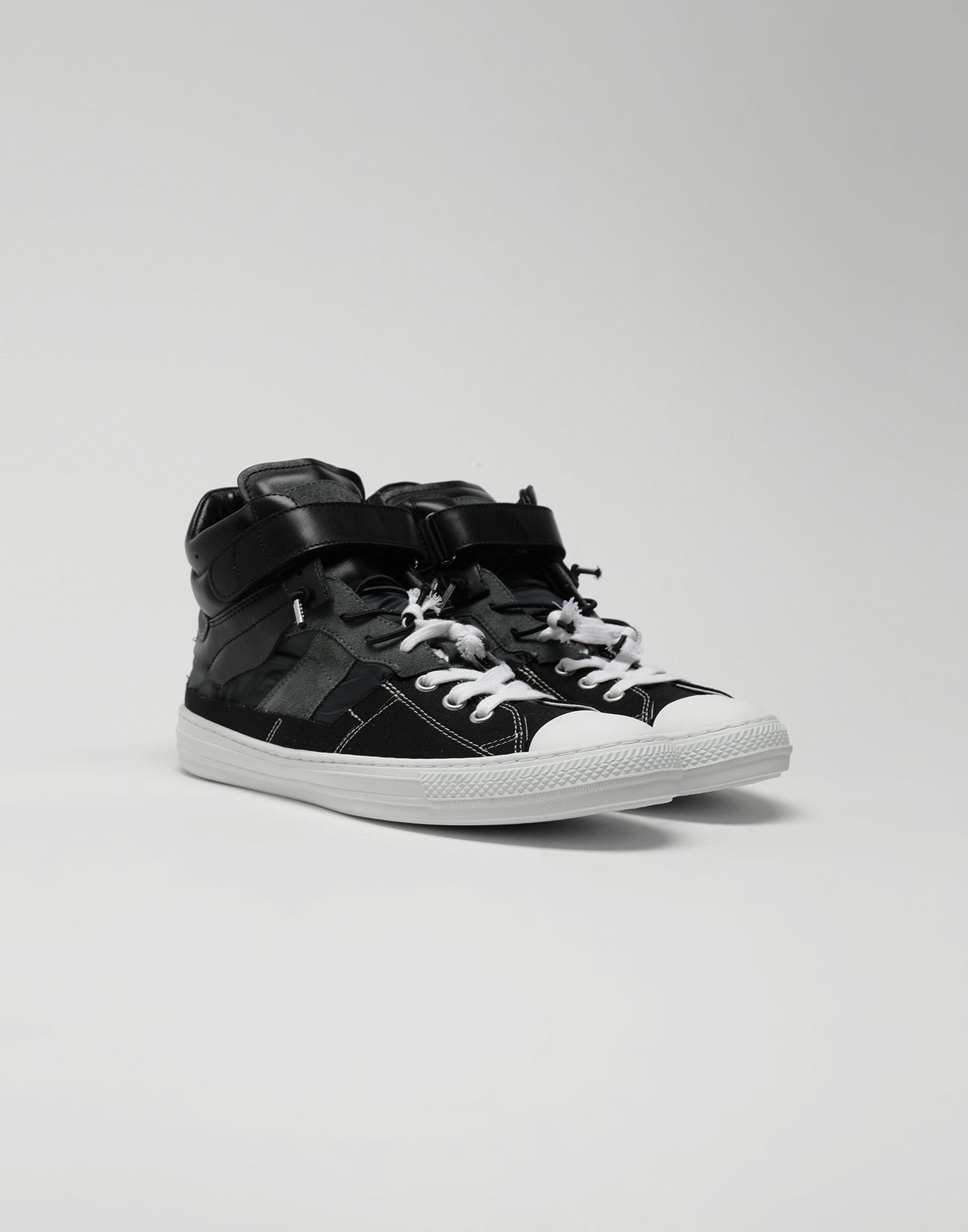 MAISON MARGIELA Spliced high top sneakers Sneakers Man r