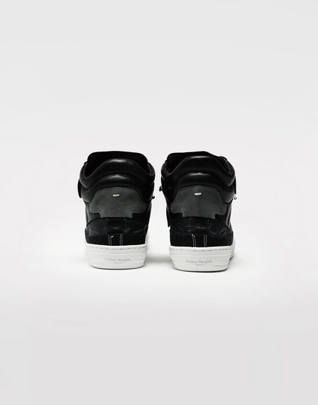MAISON MARGIELA Spliced high top sneakers Sneakers Man d