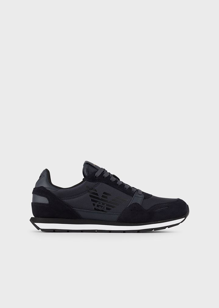 03940a737e Suede sneakers with side logo
