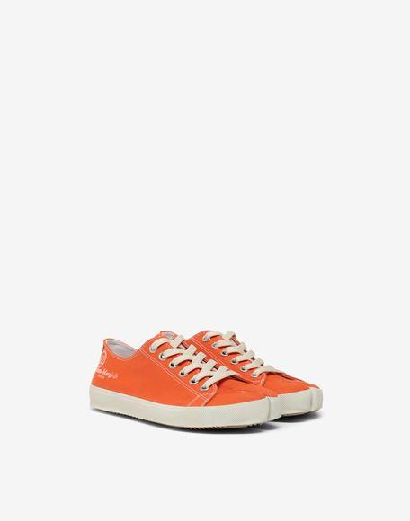MAISON MARGIELA Низкие кроссовки Tabi из парусины Sneakers Tabi Для Женщин r