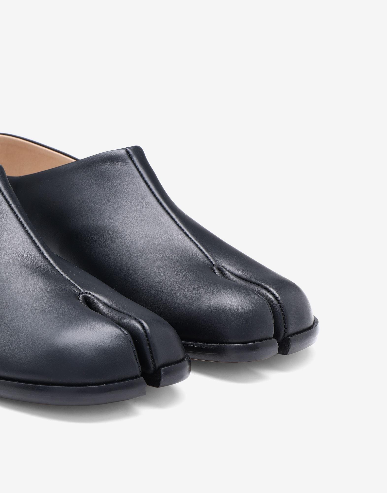 MAISON MARGIELA Chaussures à enfiler Tabi en cuir Mocassins Femme a