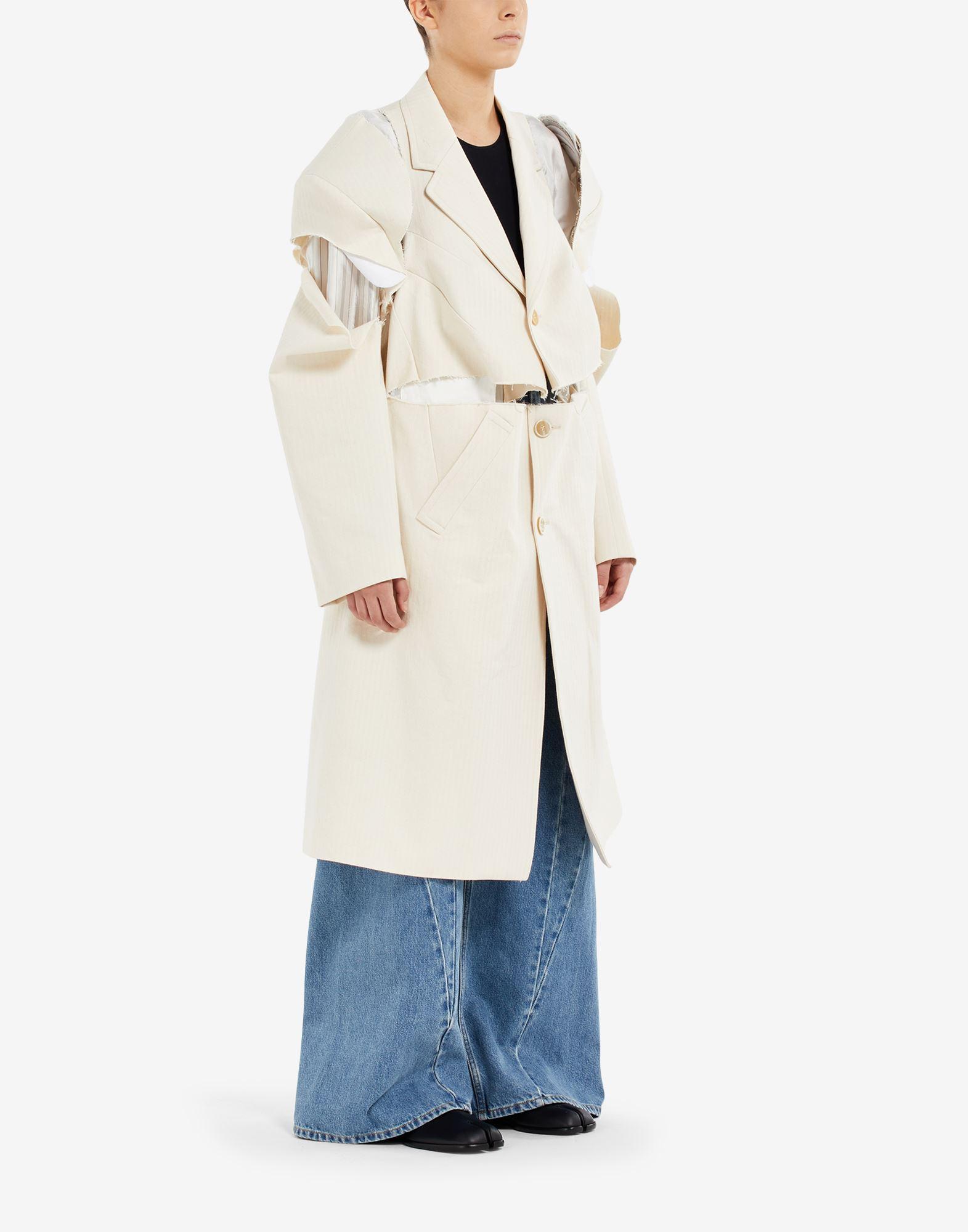 MAISON MARGIELA Tabi leather slip-ons Moccasins Woman b