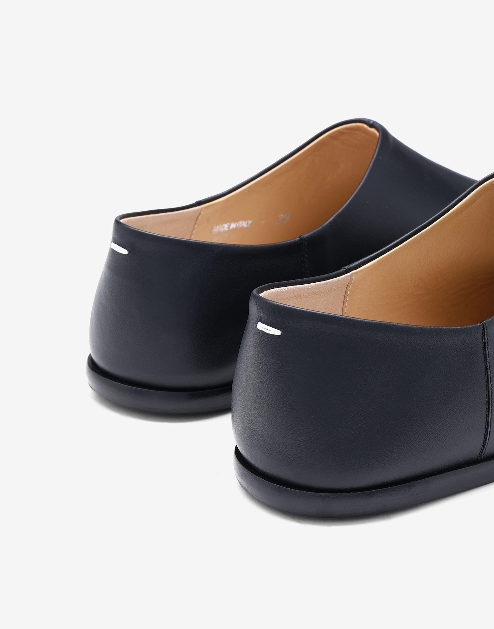 MAISON MARGIELA Chaussures à enfiler Tabi en cuir Mocassins Femme e