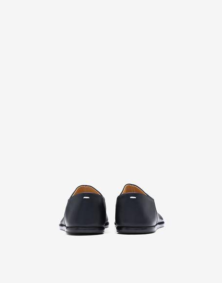 MAISON MARGIELA Chaussures à enfiler Tabi en cuir Mocassins Femme d