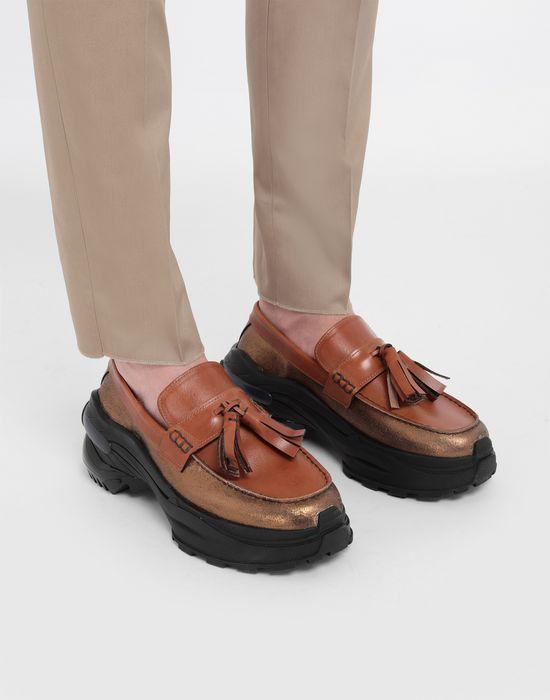 MAISON MARGIELA Spliced tassel loafer sneakers Moccasins [*** pickupInStoreShippingNotGuaranteed_info ***] b