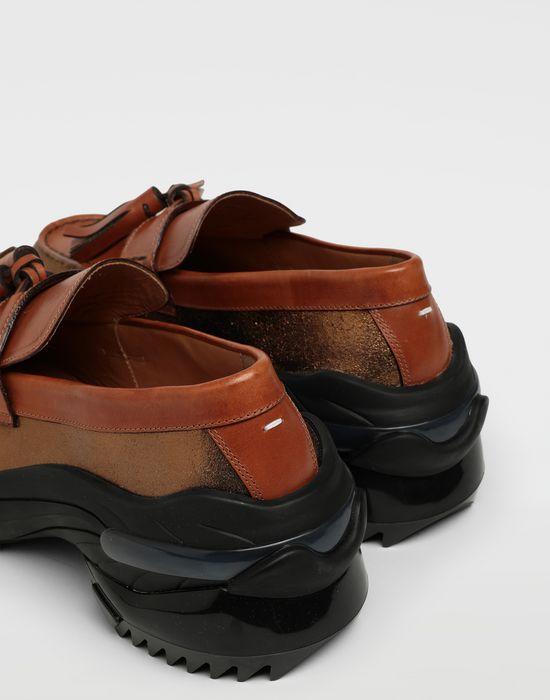 MAISON MARGIELA Spliced tassel loafer sneakers Moccasins [*** pickupInStoreShippingNotGuaranteed_info ***] e