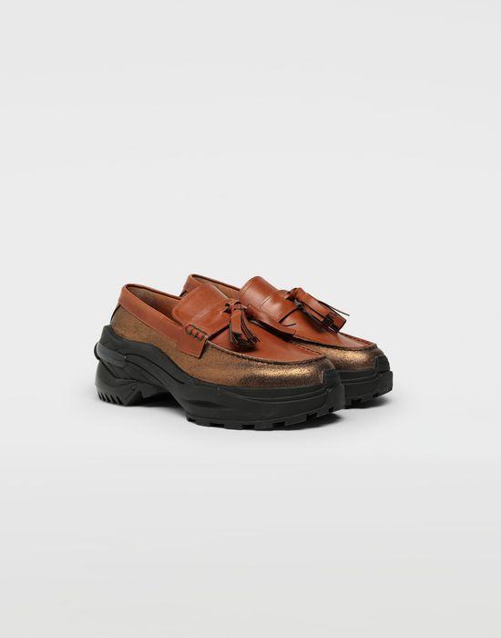MAISON MARGIELA Spliced tassel loafer sneakers Moccasins [*** pickupInStoreShippingNotGuaranteed_info ***] r