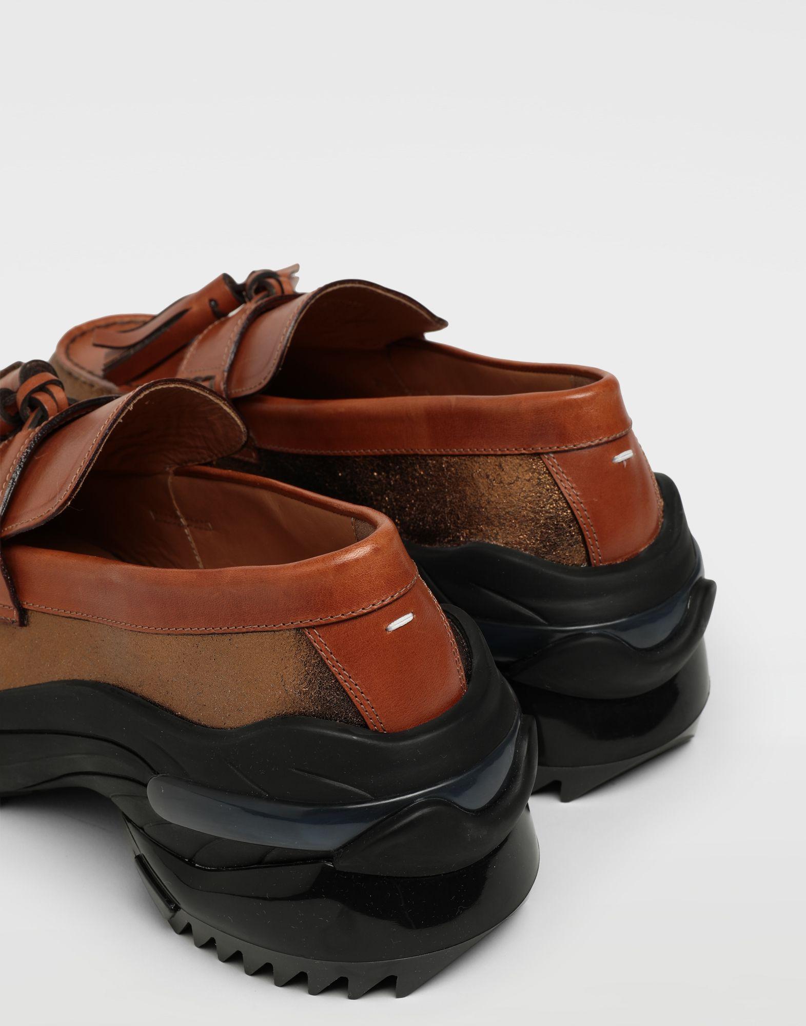 MAISON MARGIELA Gespleißte Sneakers mit Tasselloafer Mokassins Herren e