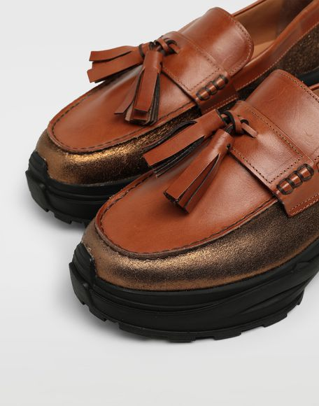 MAISON MARGIELA Gespleißte Sneakers mit Tasselloafer Mokassins Herren a