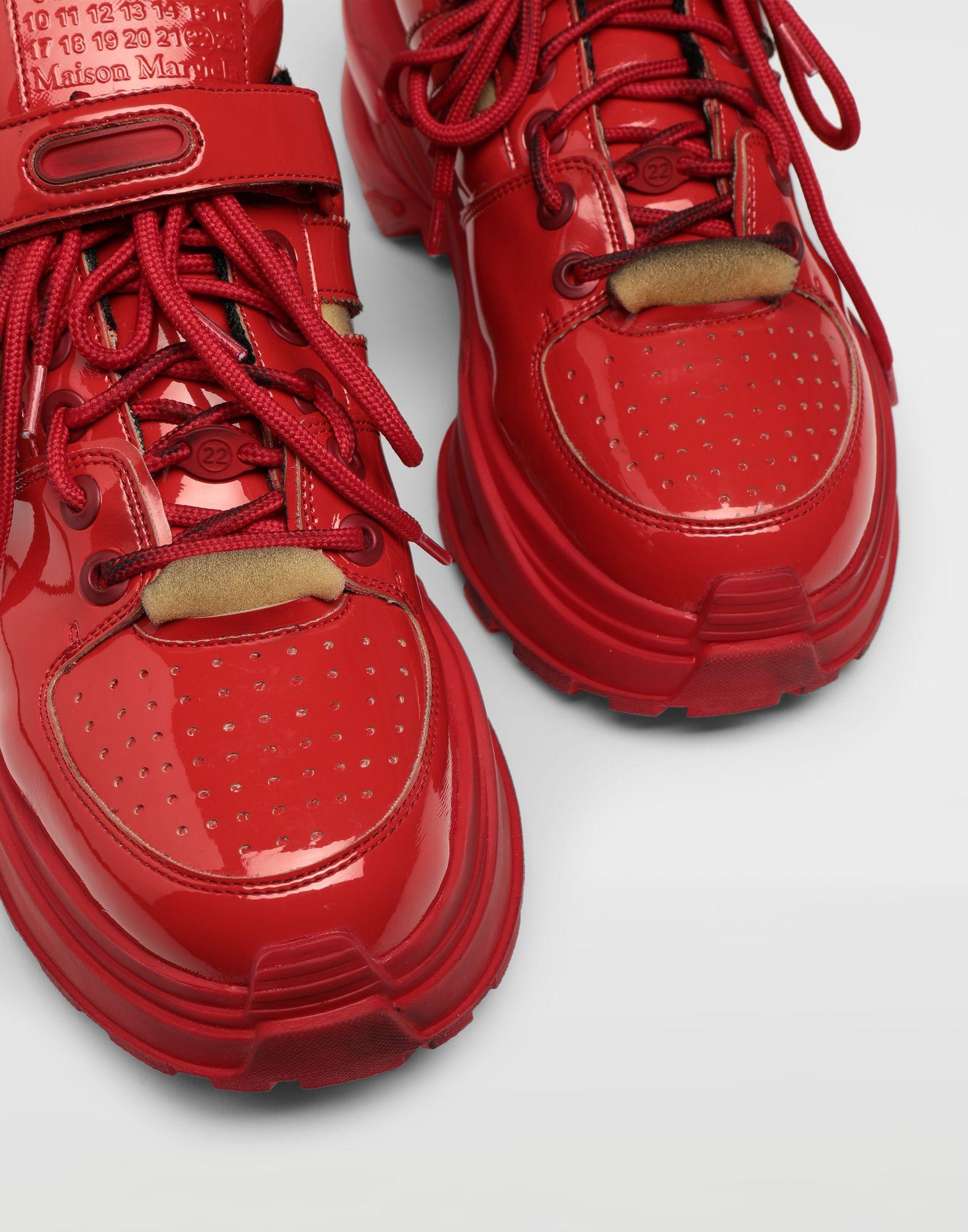 MAISON MARGIELA Beschichtete Lowtop-Sneakers Retro Fit Sneakers Herren a
