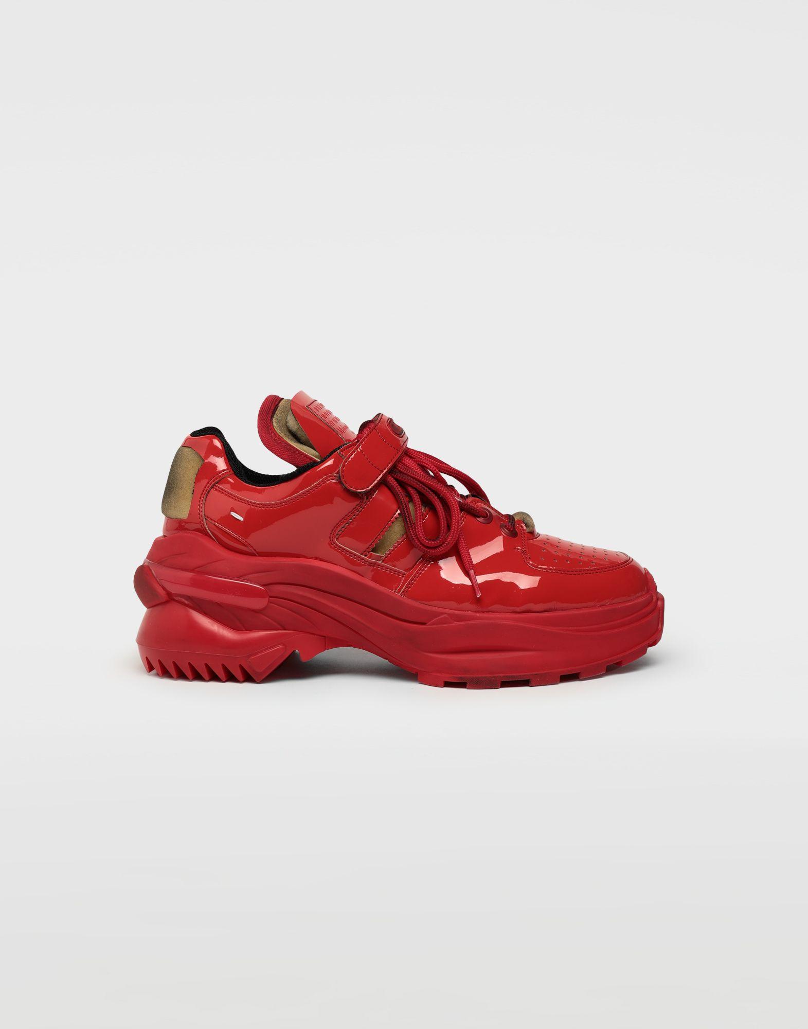 MAISON MARGIELA Beschichtete Lowtop-Sneakers Retro Fit Sneakers Herren f