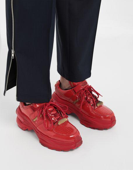 MAISON MARGIELA Retro Fit laminated low top sneakers Sneakers Man b