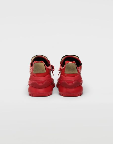 MAISON MARGIELA Retro Fit laminated low top sneakers Sneakers Man d