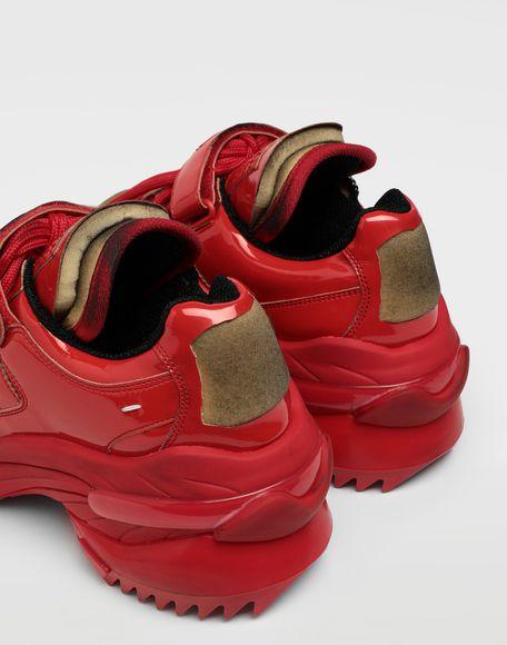 MAISON MARGIELA Retro Fit laminated low top sneakers Sneakers Man e