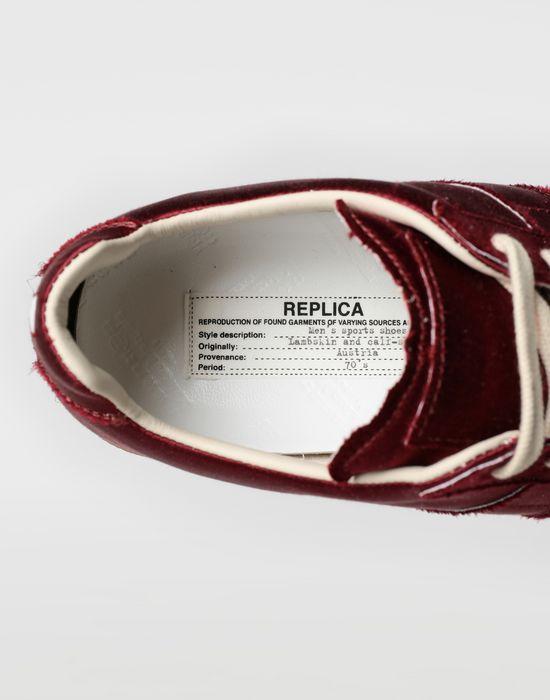 MAISON MARGIELA Satin Replica sneakers Sneakers [*** pickupInStoreShipping_info ***] a