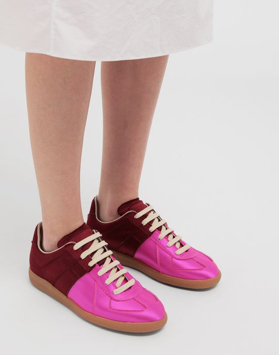 MAISON MARGIELA Satin Replica sneakers Sneakers [*** pickupInStoreShipping_info ***] b