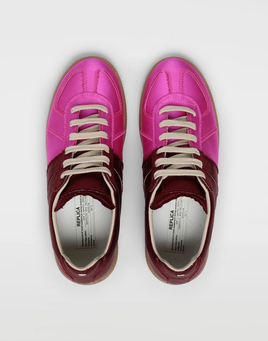 MAISON MARGIELA Satin Replica sneakers Sneakers [*** pickupInStoreShipping_info ***] d