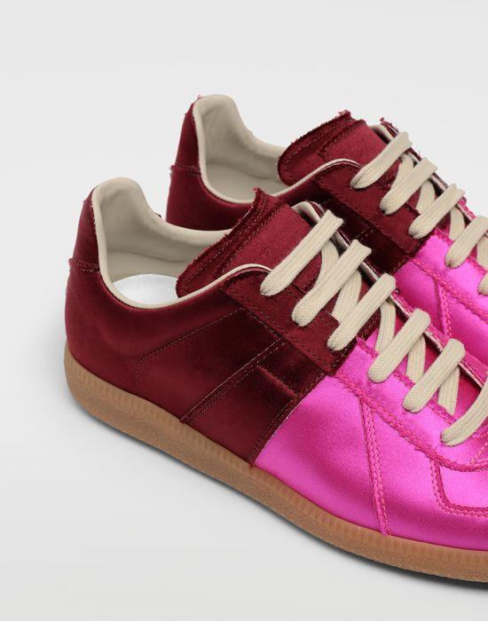 MAISON MARGIELA Satin Replica sneakers Sneakers [*** pickupInStoreShipping_info ***] e