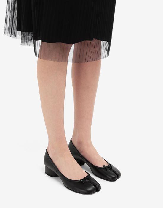 MAISON MARGIELA Tabi leather ballerina pumps Tabi ballet flats [*** pickupInStoreShipping_info ***] b