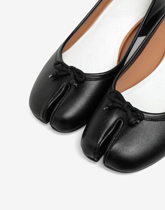 MAISON MARGIELA Tabi leather ballerina pumps Tabi ballet flats [*** pickupInStoreShipping_info ***] e