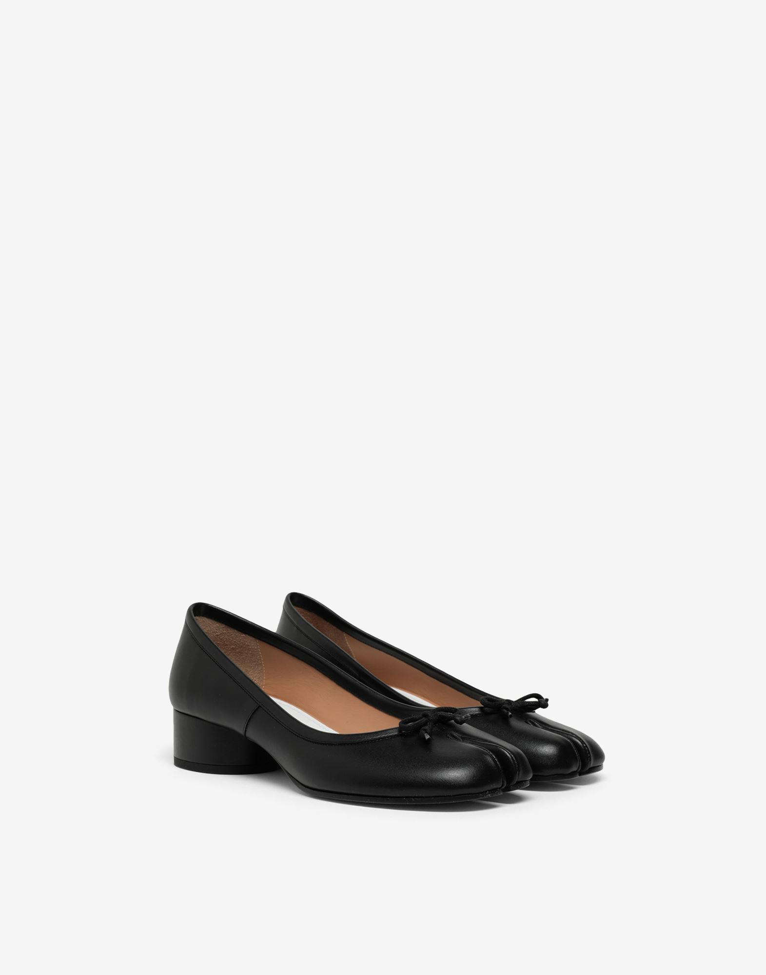 MAISON MARGIELA Tabi leather ballerina pumps Tabi ballet flats Woman r