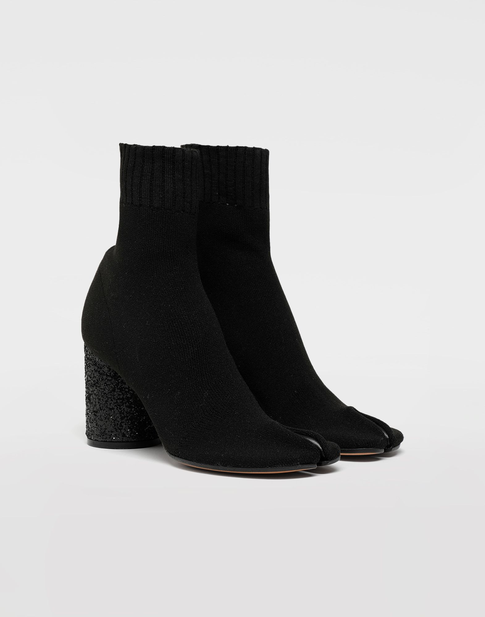 MAISON MARGIELA Tabi knit sock boots Tabi boots Woman r