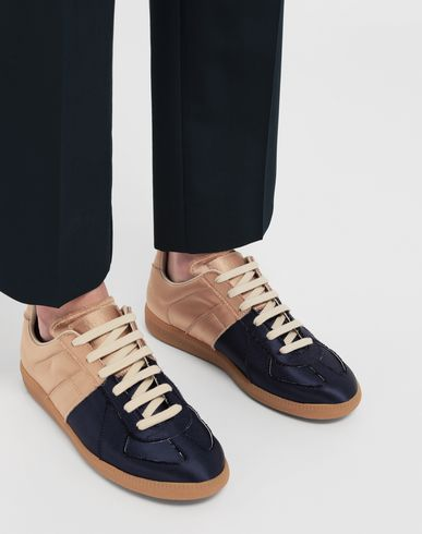 SHOES Satin Replica sneakers Gold