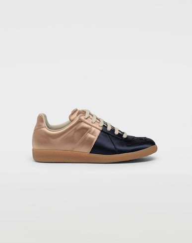 MAISON MARGIELA Sneakers [*** pickupInStoreShipping_info ***] Satin Replica sneakers f