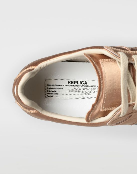 MAISON MARGIELA Satin Replica sneakers Sneakers [*** pickupInStoreShipping_info ***] a