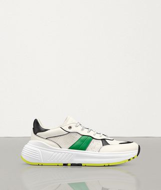 SPEEDSTER SNEAKER IN CALF LEATHER AND MESH