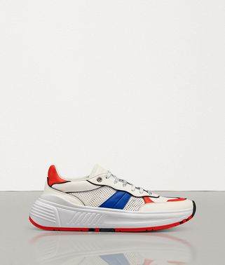 SNEAKER SPEEDSTER IN VITELLO E MESH