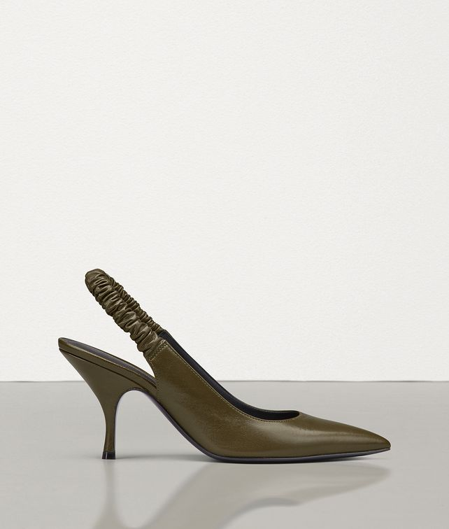BOTTEGA VENETA PUMP IN SMOOTH KID LEATHER Pump Woman fp