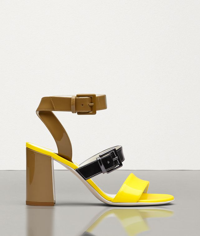 BOTTEGA VENETA SANDAL IN PATENT CALF Sandals [*** pickupInStoreShipping_info ***] fp