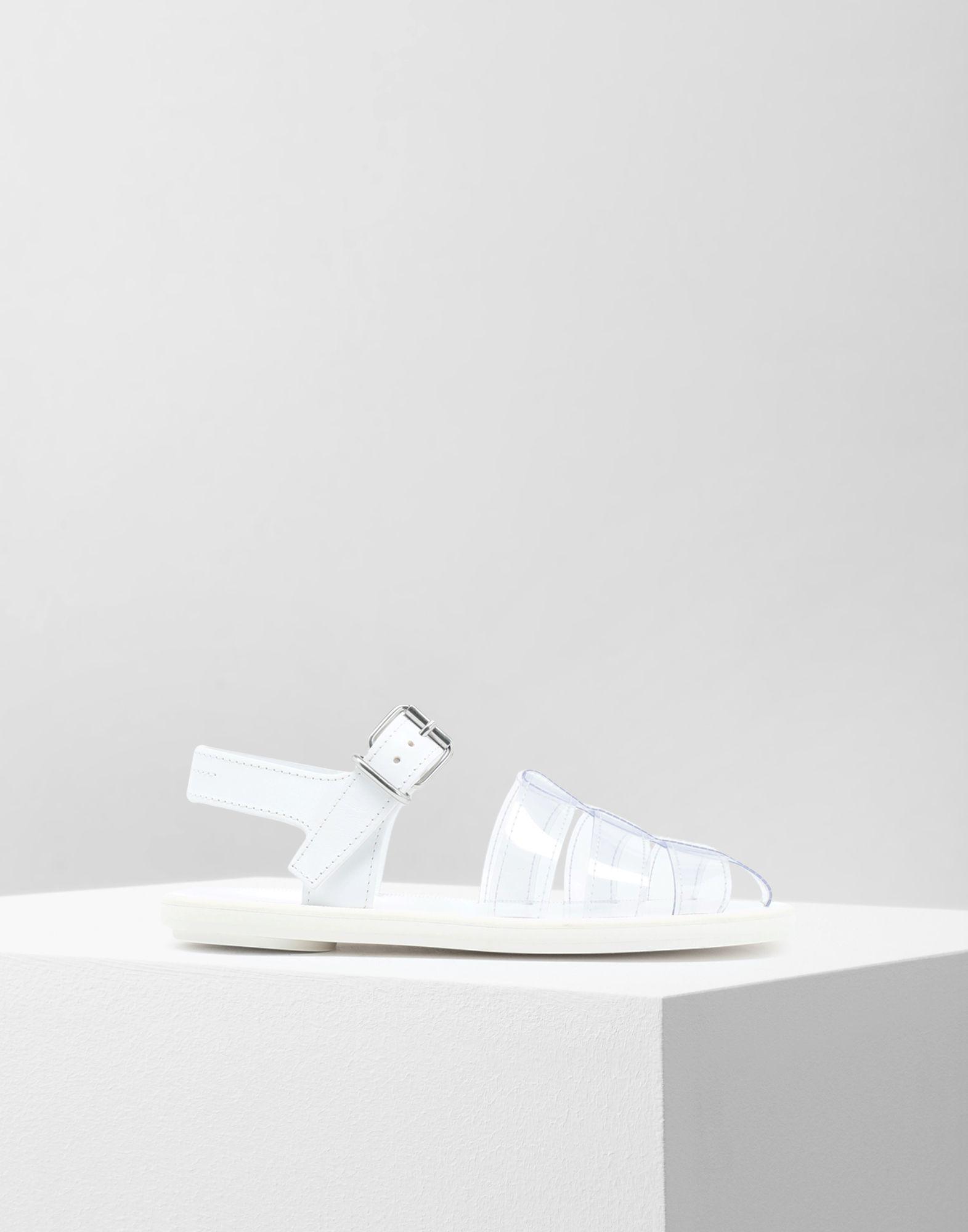 MM6 MAISON MARGIELA PVC pool slides Sandals Woman f