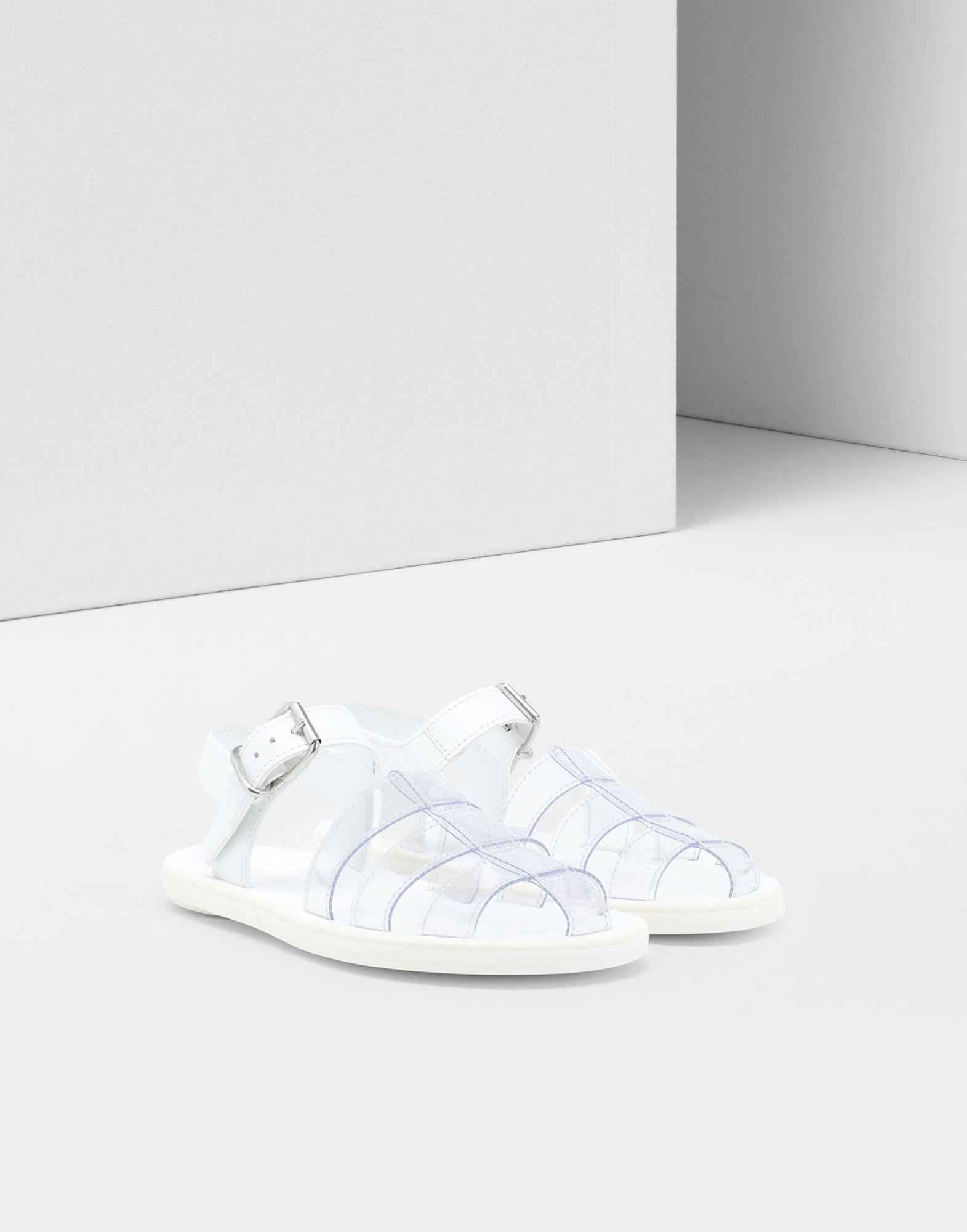 MM6 MAISON MARGIELA PVC pool slides Sandals Woman r