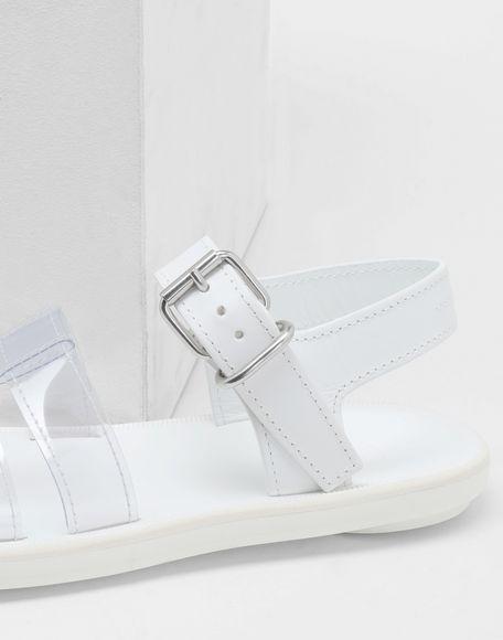 MM6 MAISON MARGIELA PVC pool slides Sandals Woman a