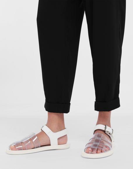 MM6 MAISON MARGIELA PVC pool slides Sandals Woman b