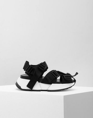 MM6 MAISON MARGIELA Sandals [*** pickupInStoreShipping_info ***] Safety Strap platform runners f