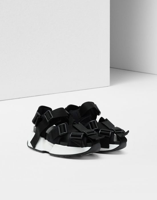 MM6 MAISON MARGIELA Safety Strap platform runners Sandals [*** pickupInStoreShipping_info ***] r