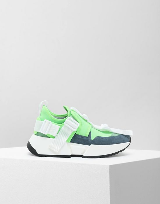 MM6 MAISON MARGIELA Safety Strap platform runners Sneakers [*** pickupInStoreShipping_info ***] f
